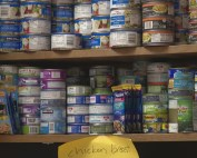 Food pantry at Lawrence Township middle schools
