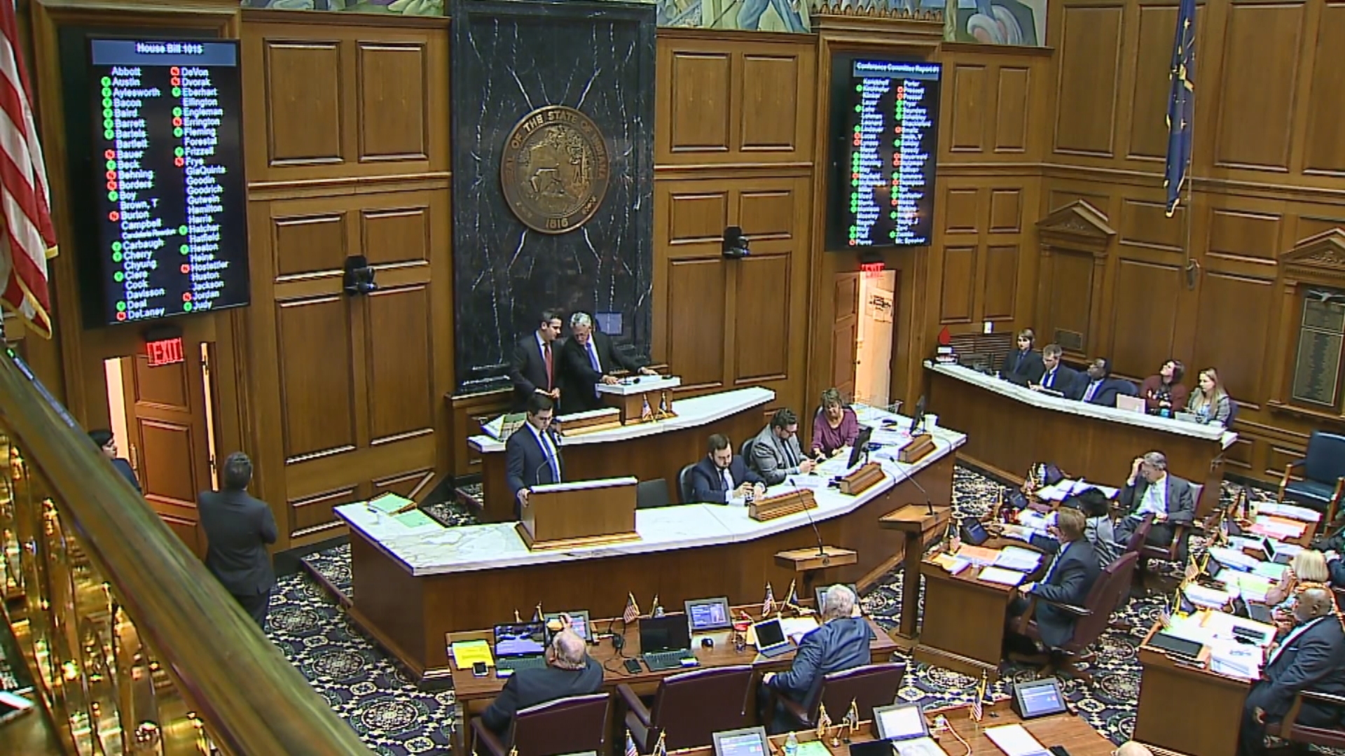 Indiana remains in session to consider budget bill