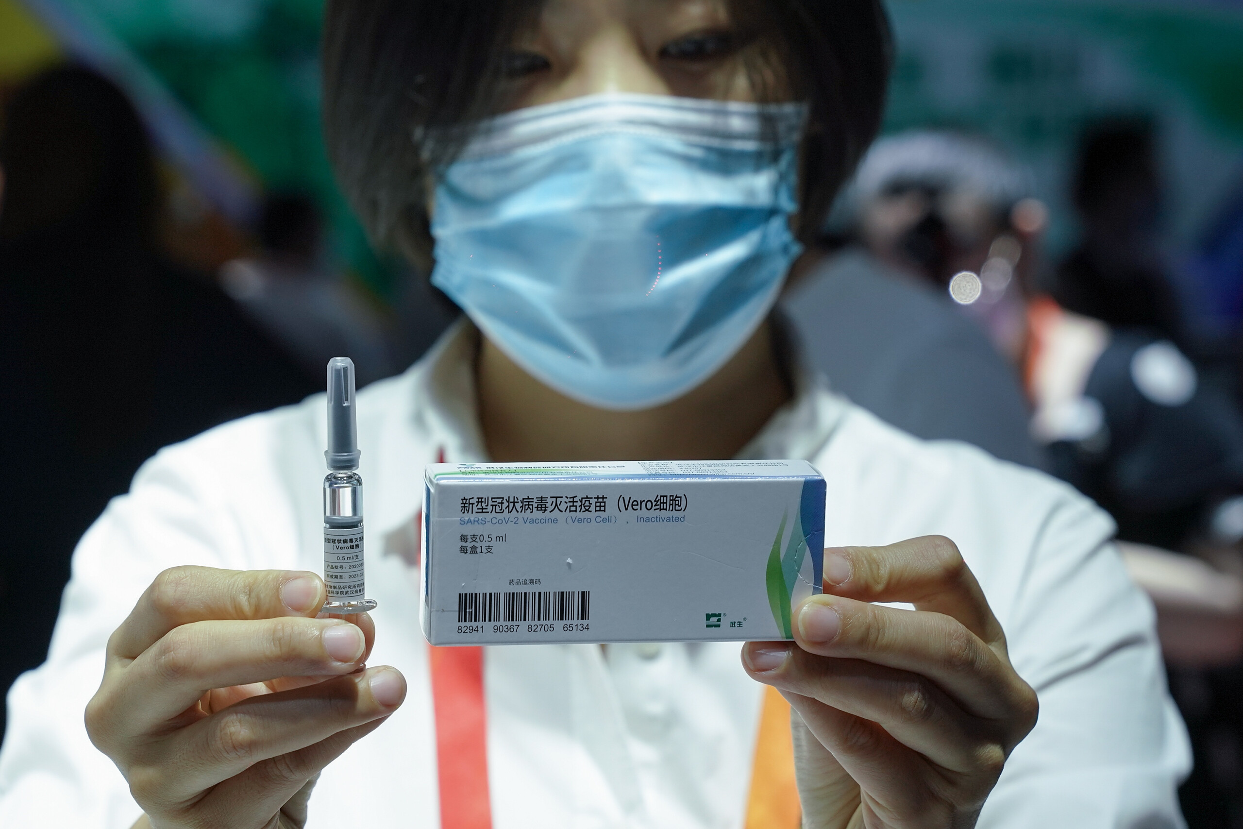 China says it got WHO support for coronavirus vaccine emergency use - WISH-TV