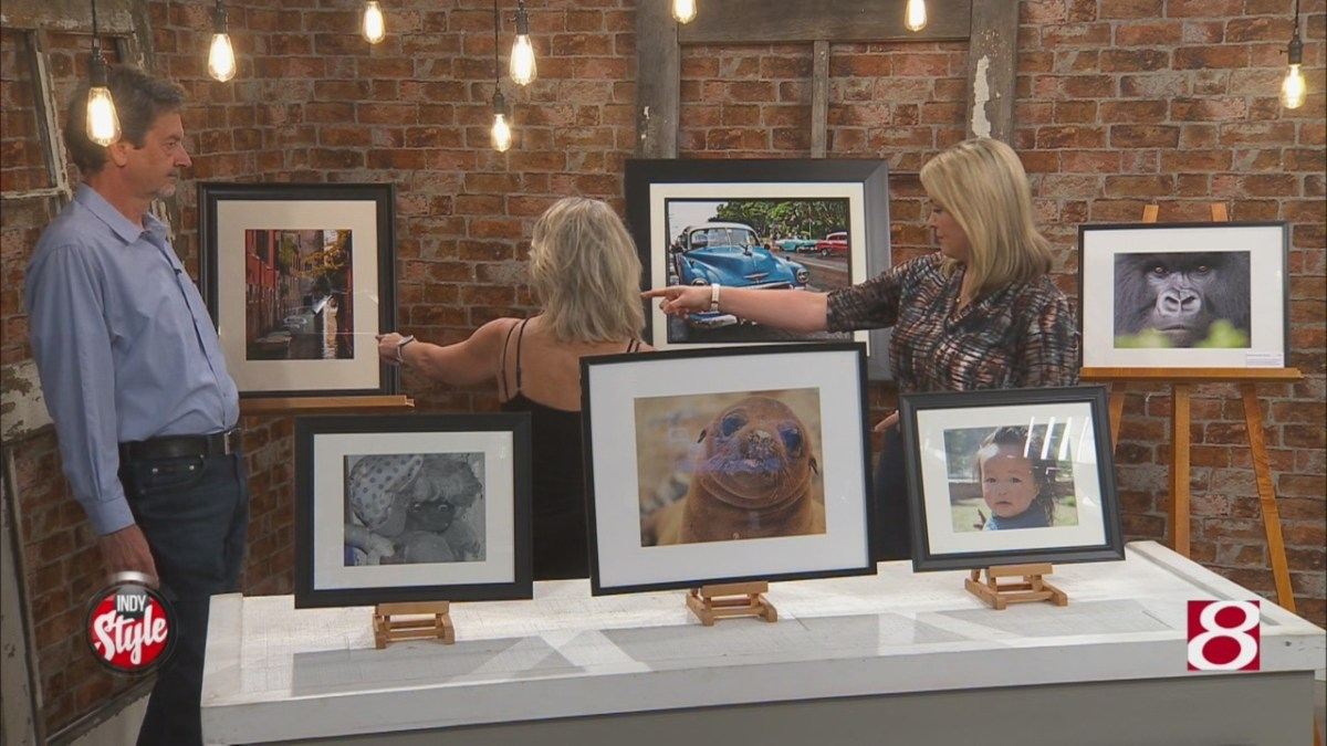 Former broadcasting couple holds Travel Photography Art Exhibit