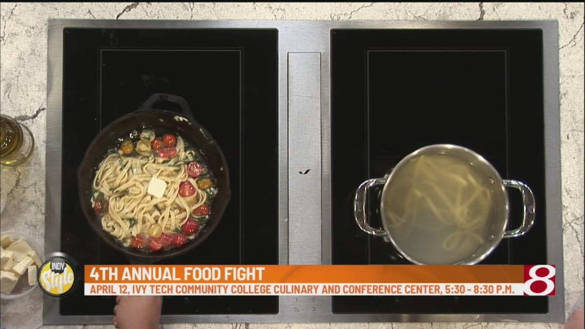 High School culinary students participate in Food Fight Fundraiser