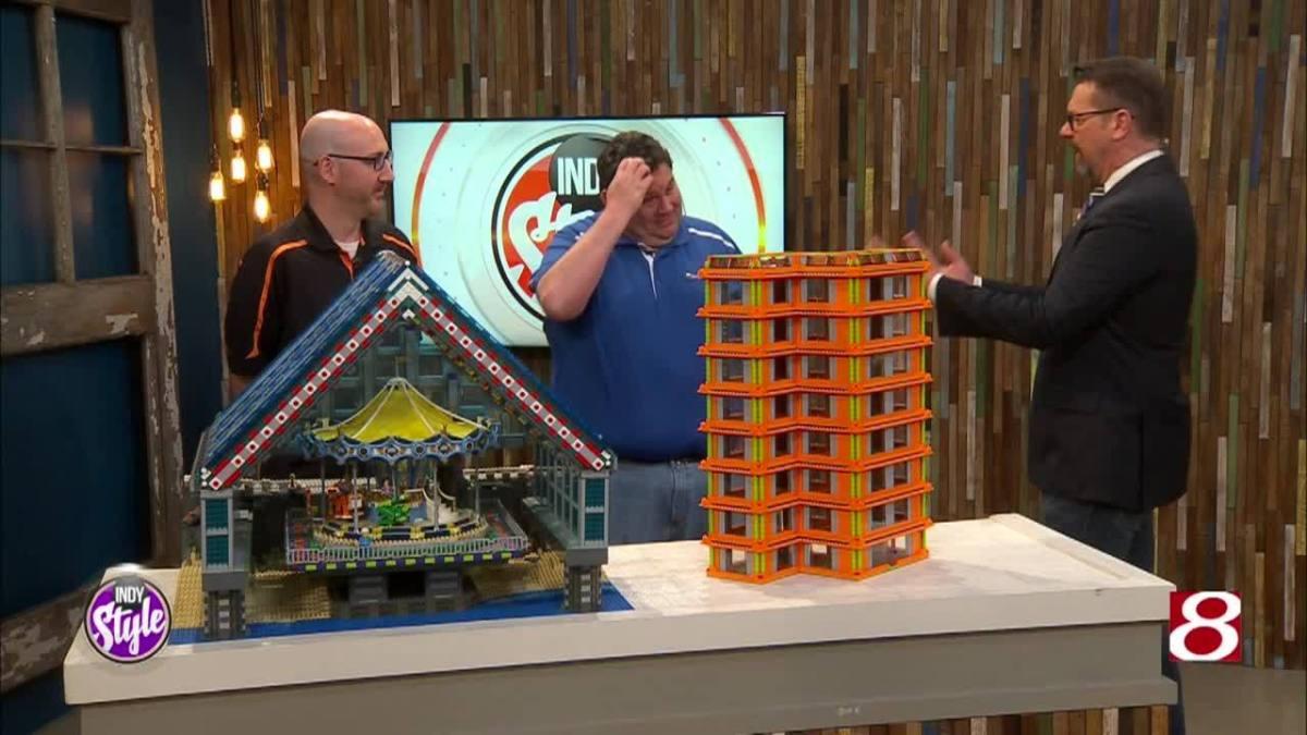 LEGO creations on display at Brickworld Indy