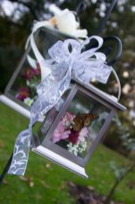 Butterfly Lantern Bouquet
