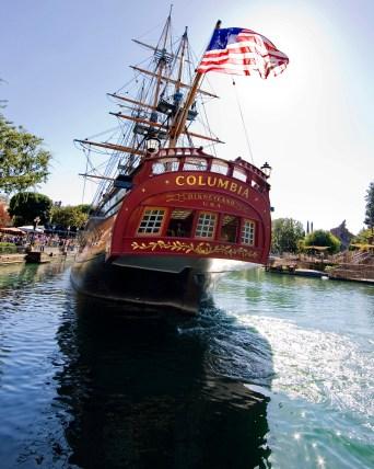 Sailing Ship Columbia at Disneyland's Frontierland