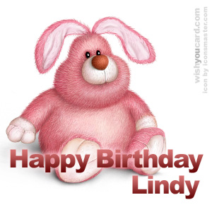 Happy Birthday Lindy Free e-Cards