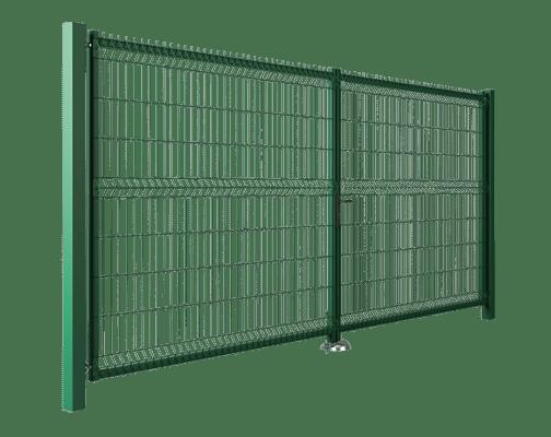 brama dwuksrzydlowa modest wisniowski