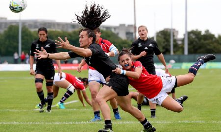 2017 Womens Rugby World Cup Wales v New Zealand