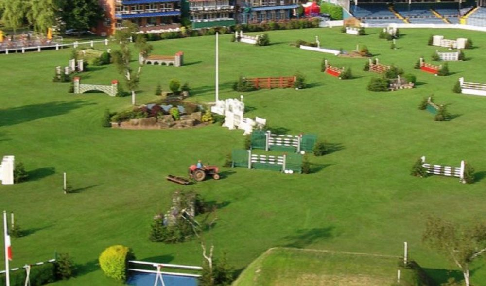 show jumping arena