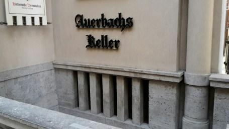 Auerbachs Keller - eine Werbung durch Goethe persönlich kann wohl nichts toppen