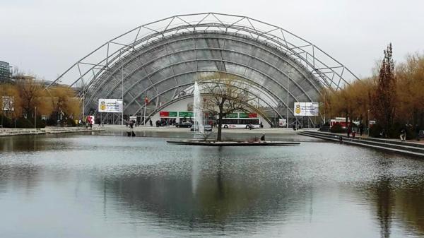 Haupteingang Messe Leipzig
