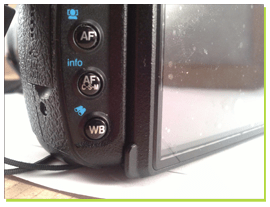 Autofocus menu reflex appareil photo