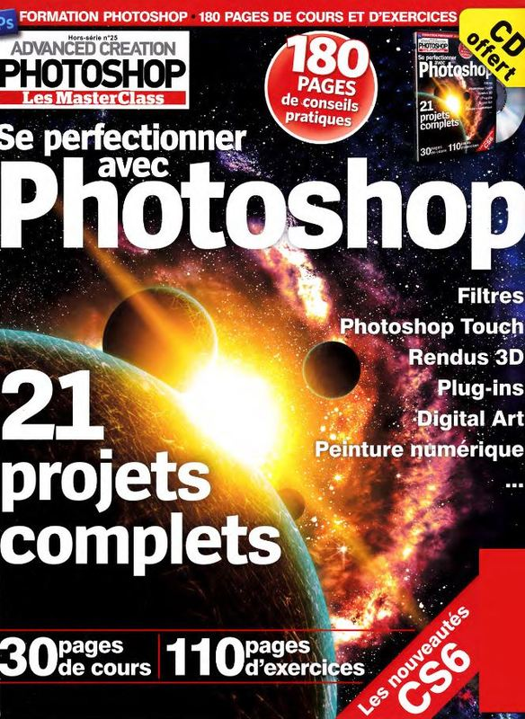 telechargement Advanced Creation Photoshop n°25