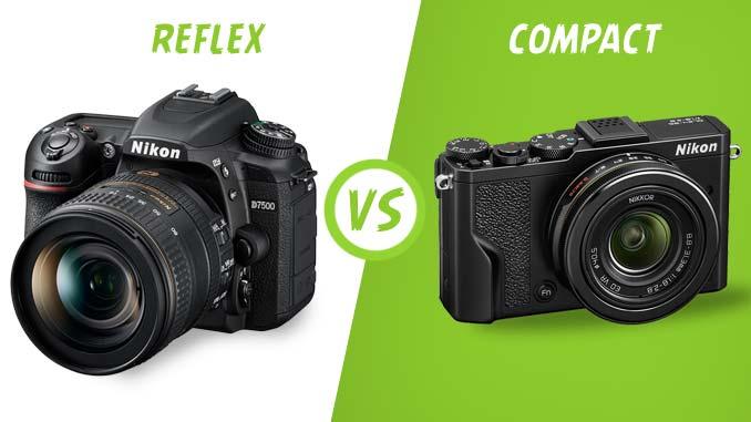 Reflex vs Compact, que choisir ?