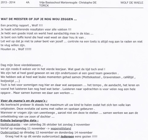 Rapport Wolf 13-10.2