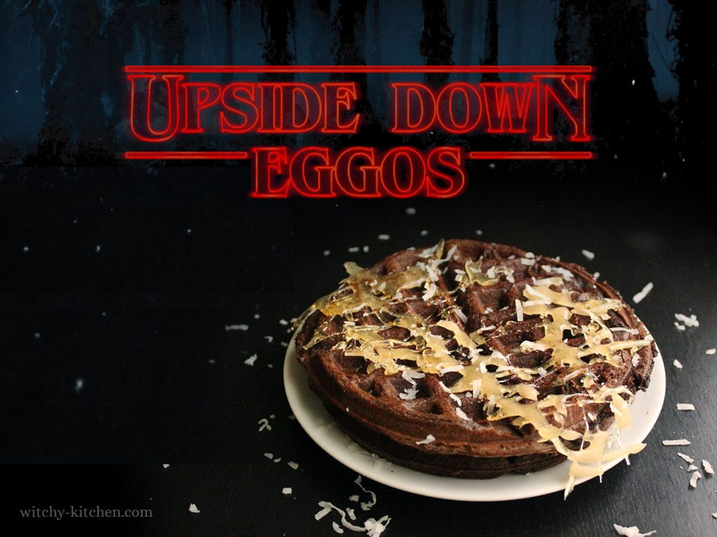 Upside Down Eggos | Stranger Things