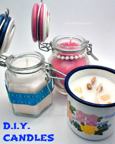 Easy Diy Candles With A Blast
