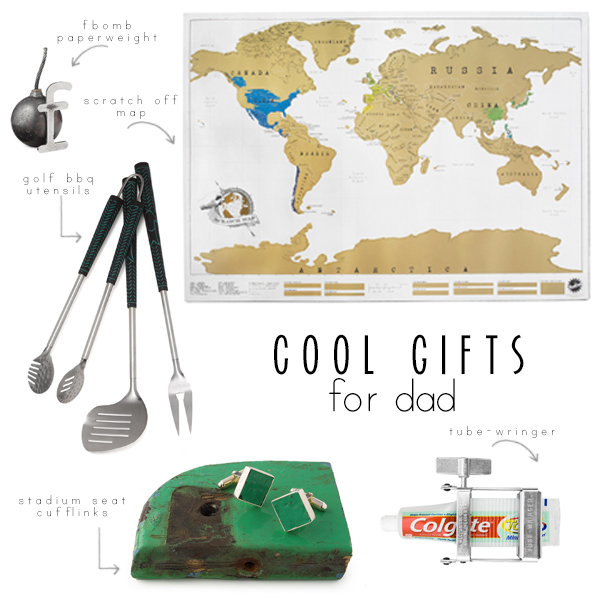 fathers day gits from uncommon goods // via withach.com