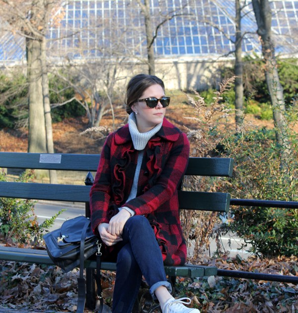 outfit: buffalo plaid | withach.com