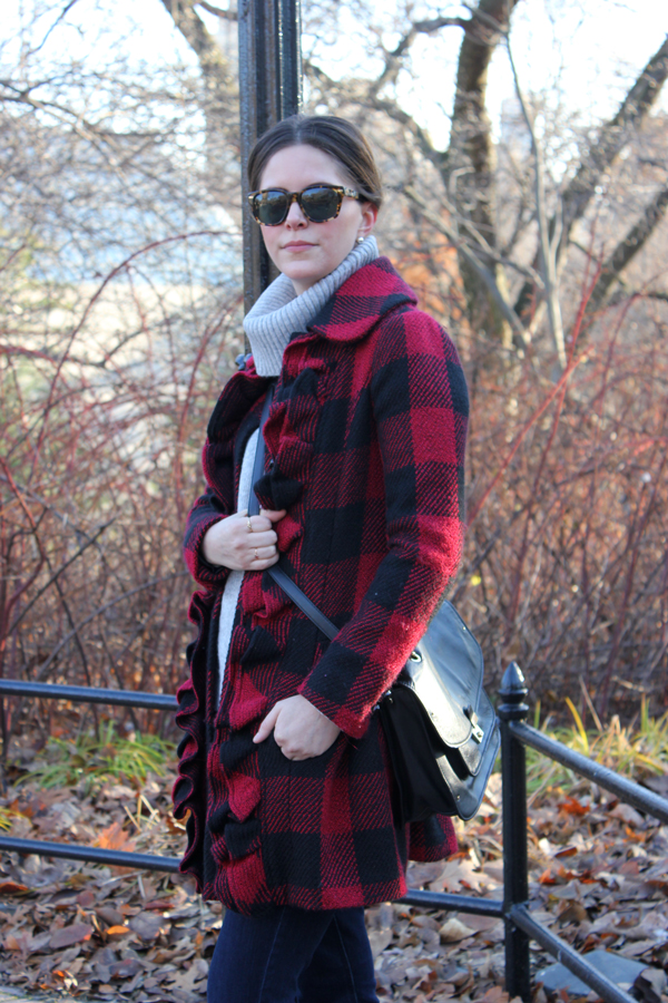 outfit: buffalo check | withach.com