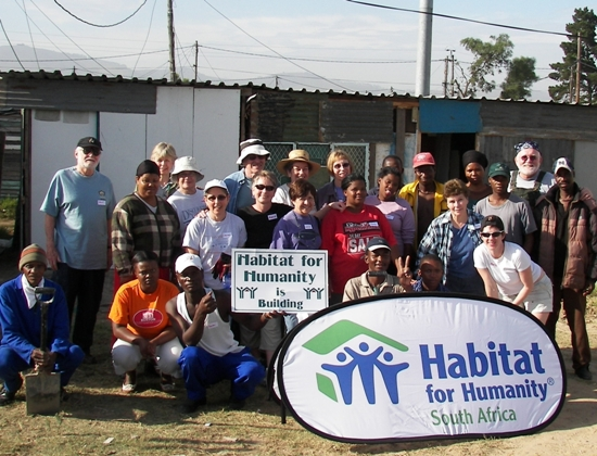 Owner Marcia Ives has volunteered with Habitat for Humanity's Global Village program since 2005.