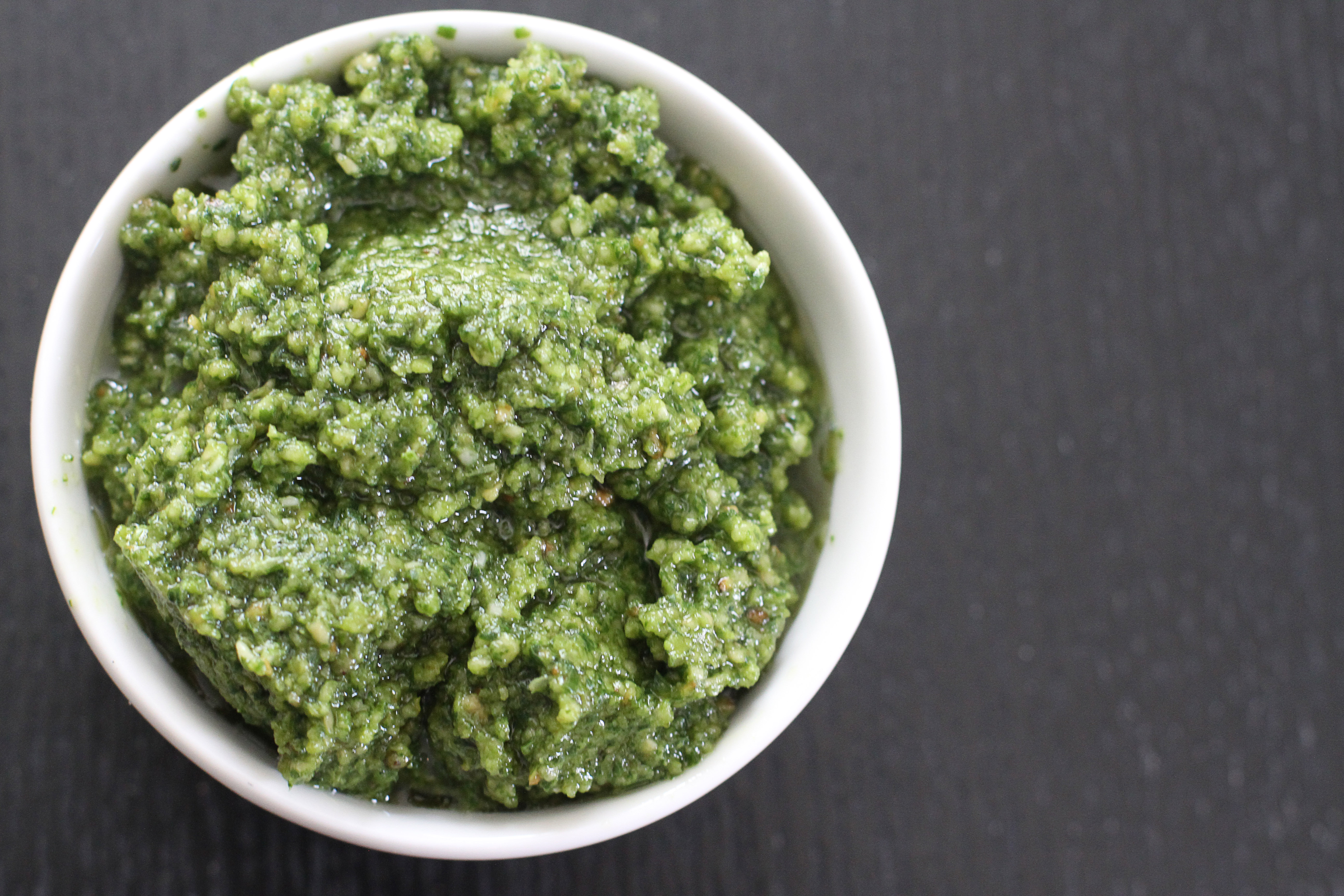 There are not many things I love more than simple basil pesto. It's ...