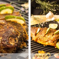 Whole Tilapia - two ways