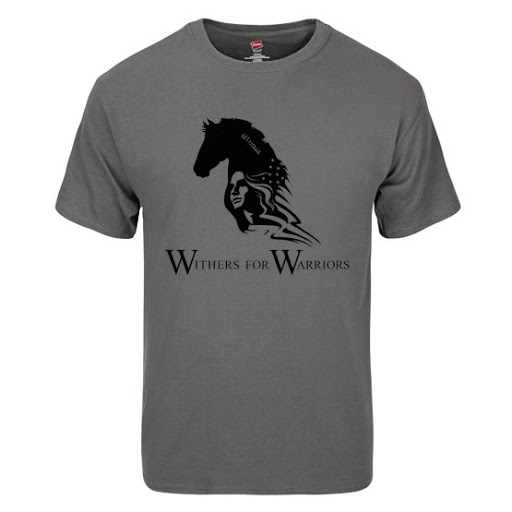 eb2414e720d Hanes® Tagless® Ink Printed Short Sleeve T-Shirt - Withers for Warriors