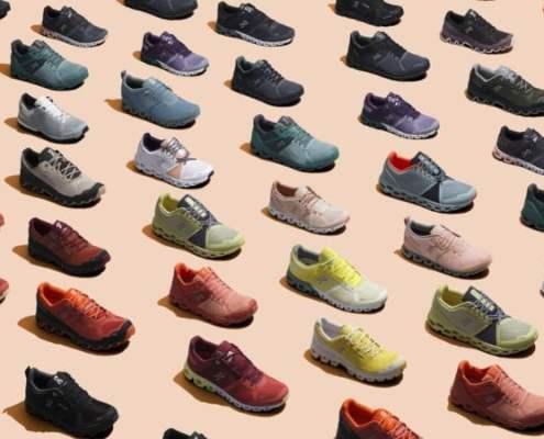 On Running Shoes range