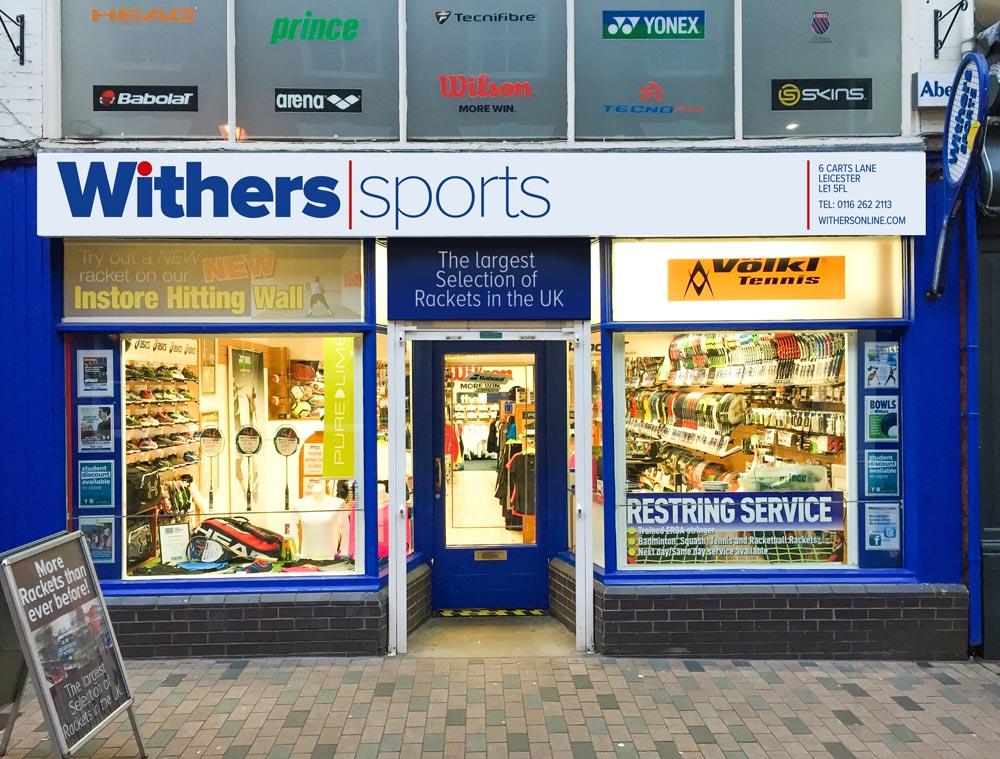 Withers Carts Lane Shopfront