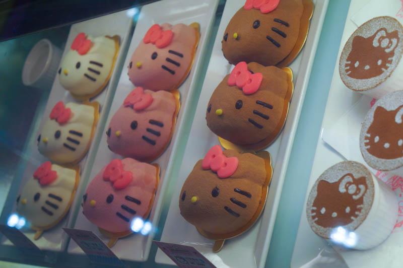 Visiting the Hello Kitty Restaurant Taipei