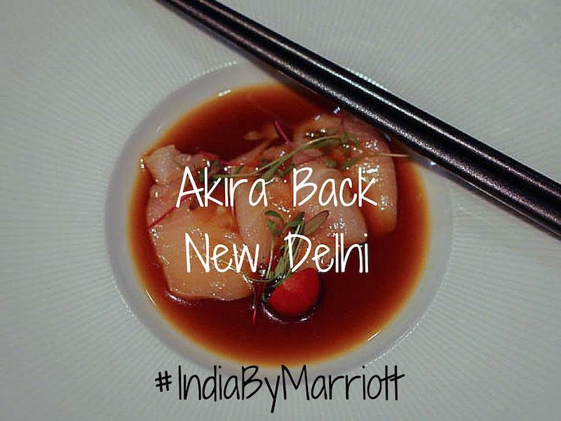 Akira Back New Delhi and Indian Wines