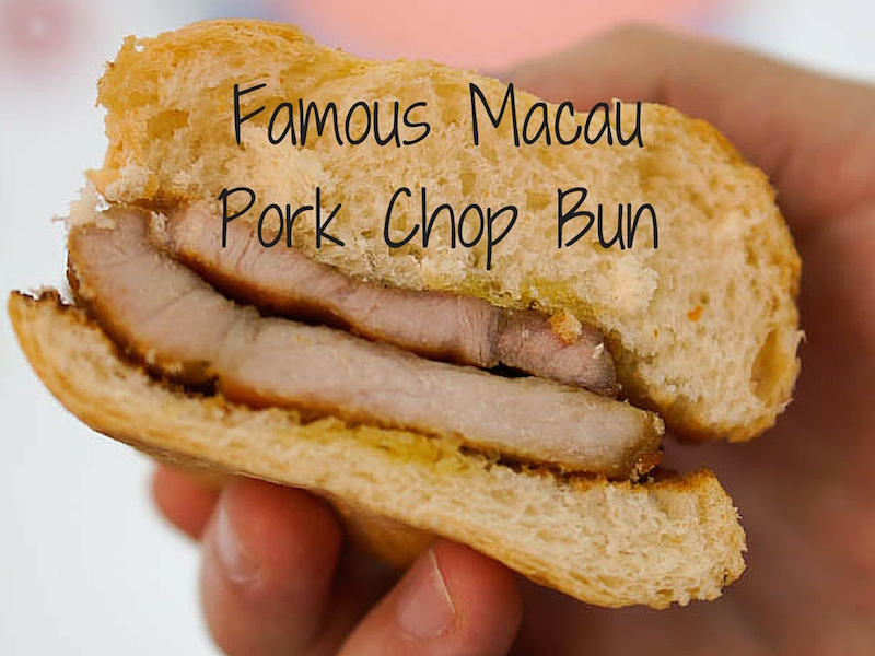 The Famous Macau Pork Chop Bun