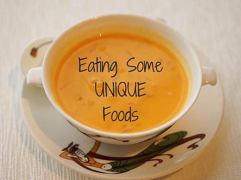 Unique Foods – What We've Eaten in 2016