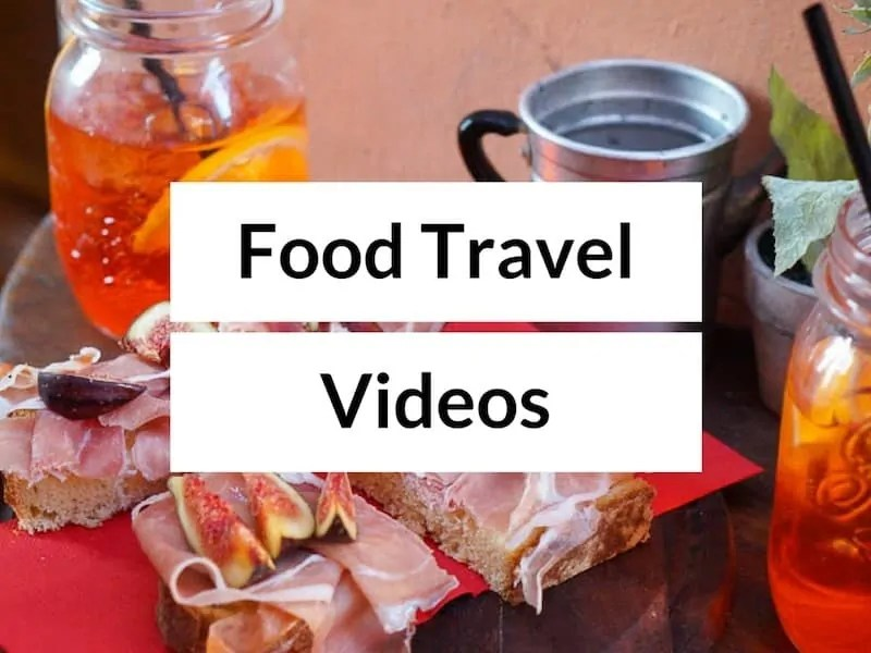 Culinary Tours Videos