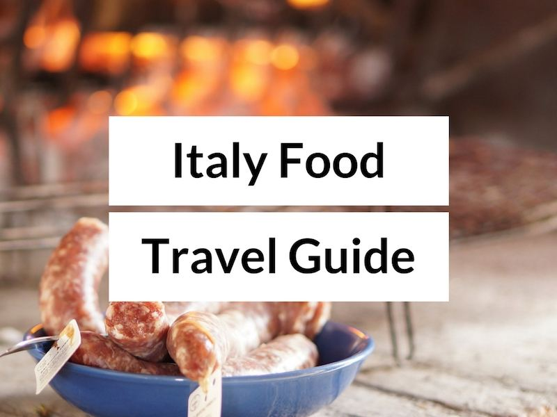 Italy food and travel blog