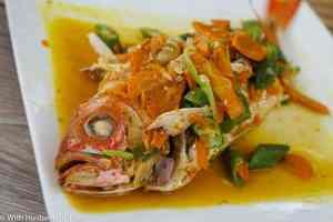 Caribbean authentic restaurant - Grilled Fish