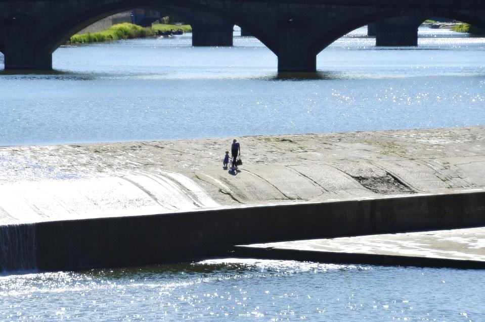 Ponte alla Carraia - Pescaia di Santa Rosa