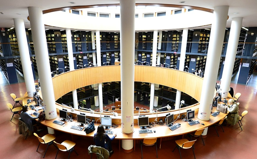 Distinguished libraries of Florence