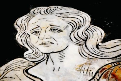 Marble figure - Duomo - Siena