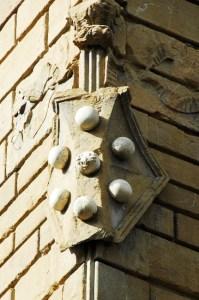 Escutcheon Medici in Florence - Palazzo Medici-Riccardi