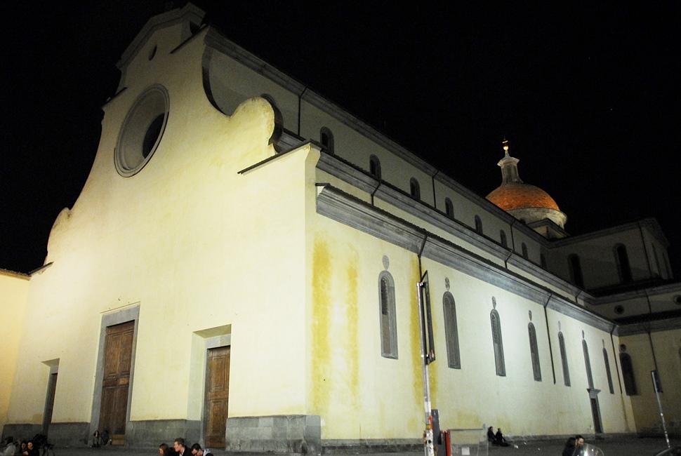 Santo Spirito - night