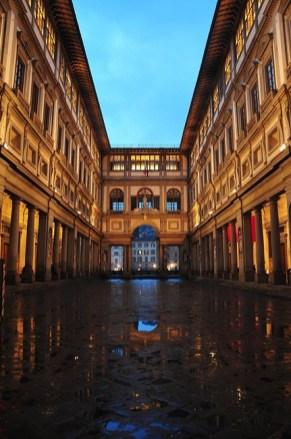 Galleria degli Ufizzi - night