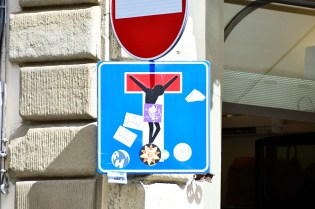 CLET's work in public spaces - Florence