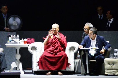 XIV Dalai Lama - Festival delle Religioni Firenze 2017