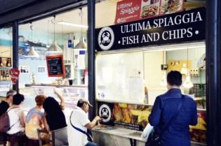 fish & chips - Ultima Spiaggia - San Lorenzo market