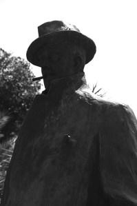 Giacomo Puccini's monument