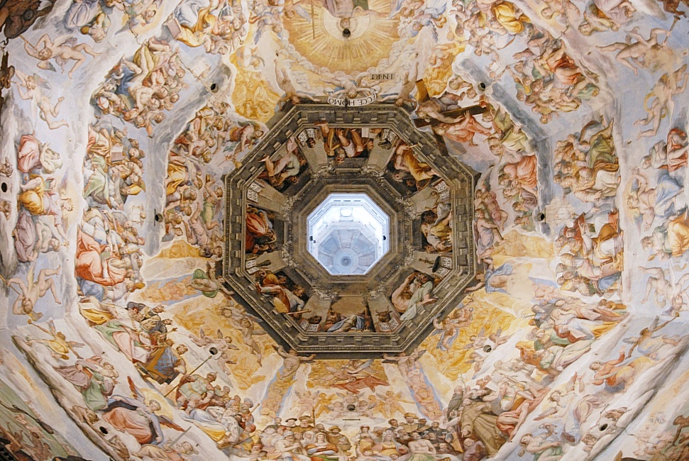Domes of Florence (not only Brunelleschi's)