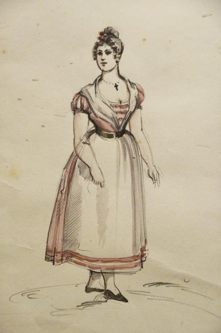 "Museo Franco Zeffirelli - ""L'elisir d'amore"" sketch"