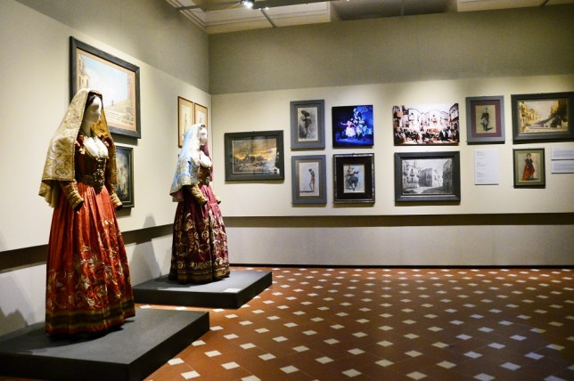 "Museo Franco Zeffirelli - ""Cavalleria rusticana"" costumes and sketches"