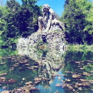 The Colossus of the Appenines - Parco mediceo di Pratolino - Villa Demidoff - Florence
